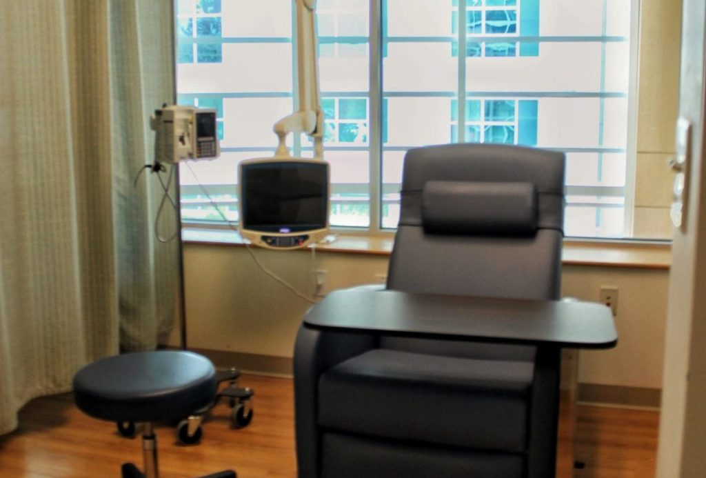 Treatment Room and Chair